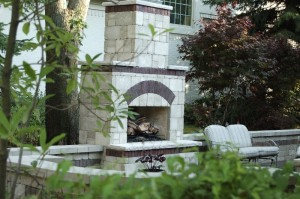 Indianapolis Outdoor Fireplace