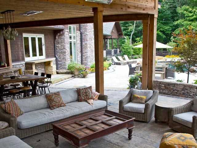 backyard living spaces designs get outside with our custom decks