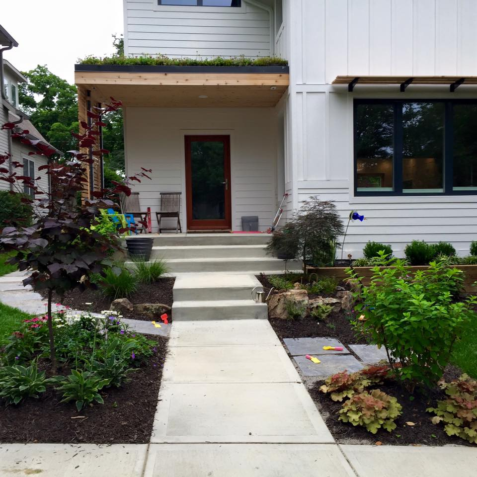 Before & After – Landscaping project