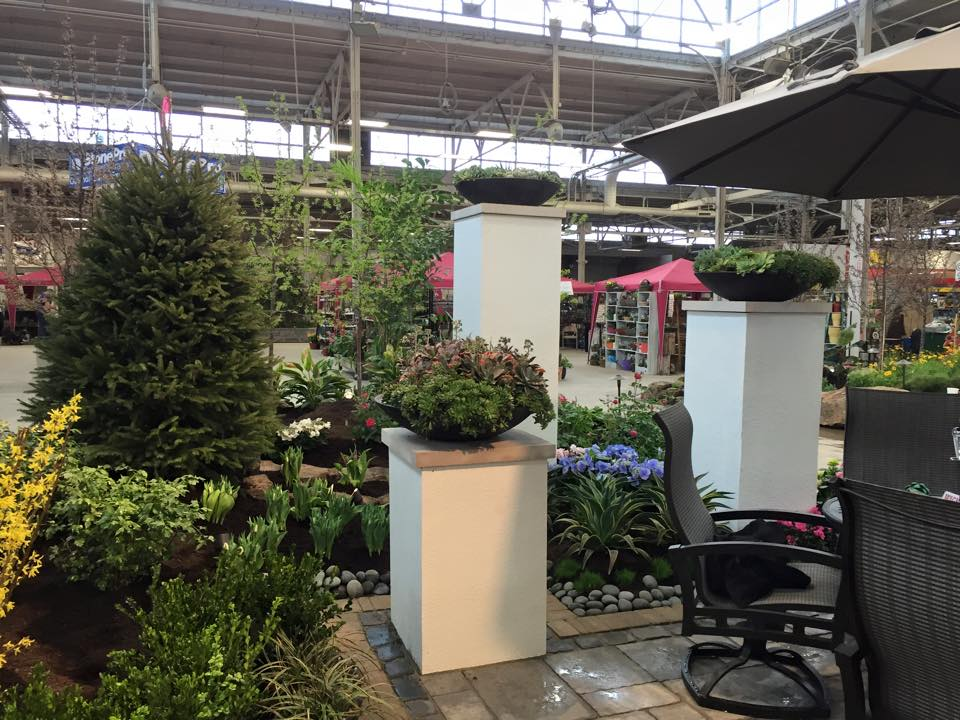Indianapolis Flower & Patio Show Display
